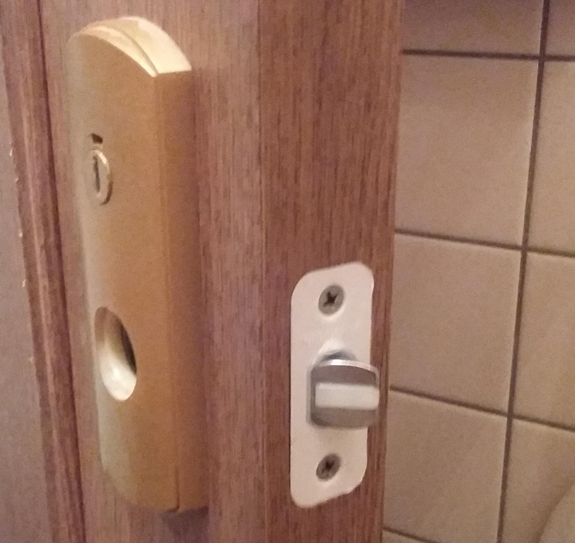 西淀川区でトイレの鍵交換